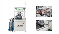 Rotor two station automatic balancing machine