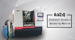 Crankshaft automatic balancing machine-so that crankshaft ba