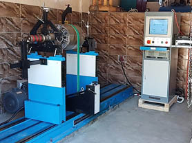 Horizontal Balancing Machine On