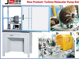 Turbine Molecular Pump Balancing Machines