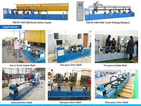 Cardan Shaft Balancing Machine