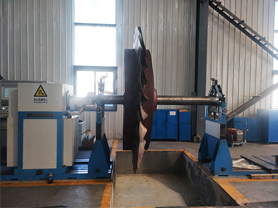 Special Balancing Machine for Large Fan Impeller