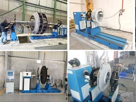 High Efficiency Pump Impeller Balancing Machine