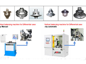 Differentail Case Balancing Machine