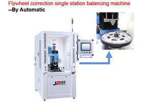 Flywheel Balancing Machine-Manual and Automatic