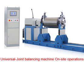 Universal Balancing Machine On Site