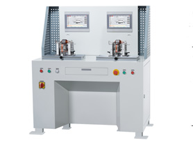 Two Station Armature Balancing Machine