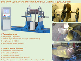 Balancing Machine for Different Propeller
