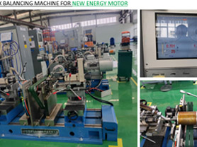 Traction Motor Balancing Machines