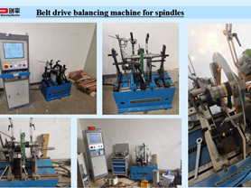 Horizontal Balancing Machines for Spindles