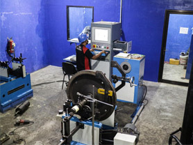 Turbine Rotor Balancing Machines
