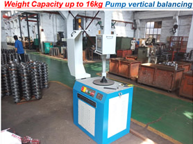 Pump impeller Balancing Machine