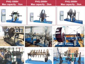Belt Driven Horizontal Balancing Machines