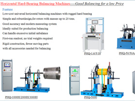 Good Balancing Machine with Low